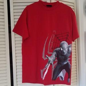 Marvel Spiderman Red/Black Men's Shirt/Top